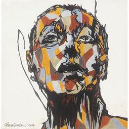 Face Series #2 by Adhik Kristiantoro