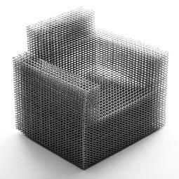 composition chair by Kouichi Okamoto / Kyouei Design