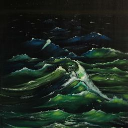 Ocean Night by Shveta Saxena
