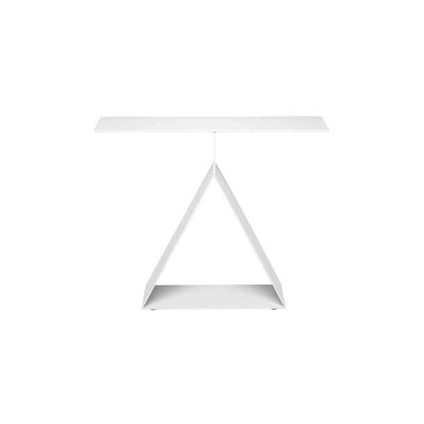 Picto Furniture-Straight End Table/Matte White by nendo for ZENS