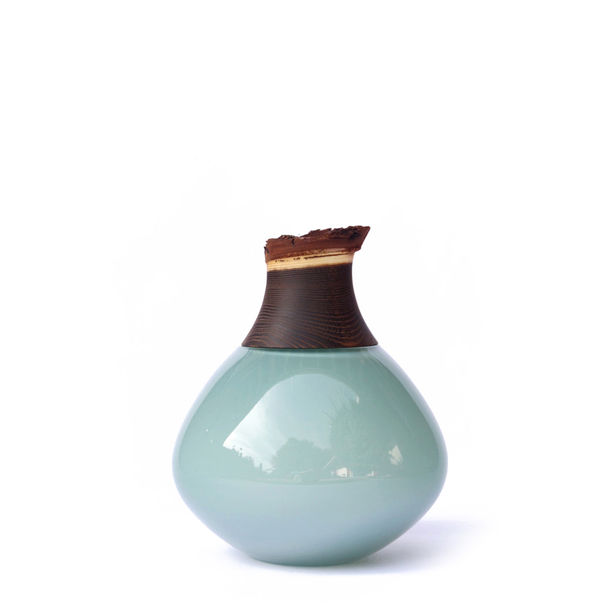 Pisara Small Stacking Vessel - Opal Blue by Utopia & Utility (by Pia Wüstenberg)