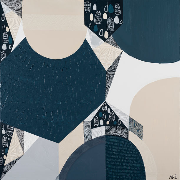 Blue Stone Basalt 3 by Ani Ipradjian