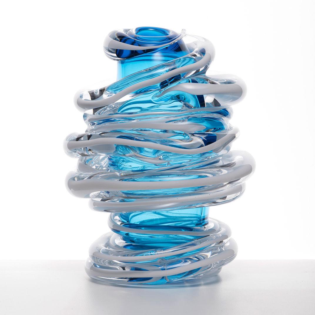 Blue Vase by Martin Potsch