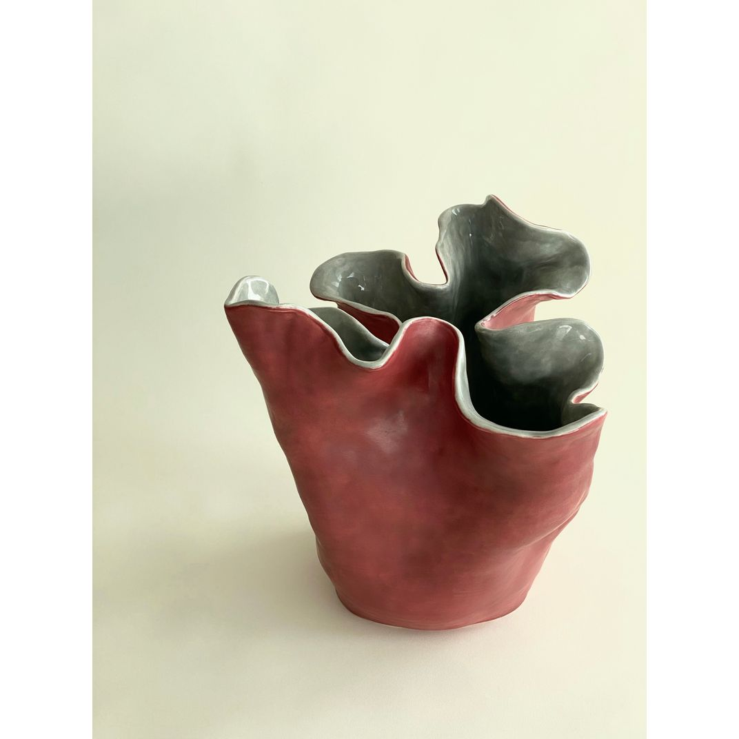 Visceral Red Gray I by Magda von Hanau
