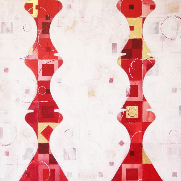 Vessels - Red by Jyoti Naoki Eri