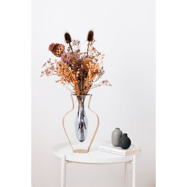 Droplet Aqua Vase / Wide by Kitbox Design