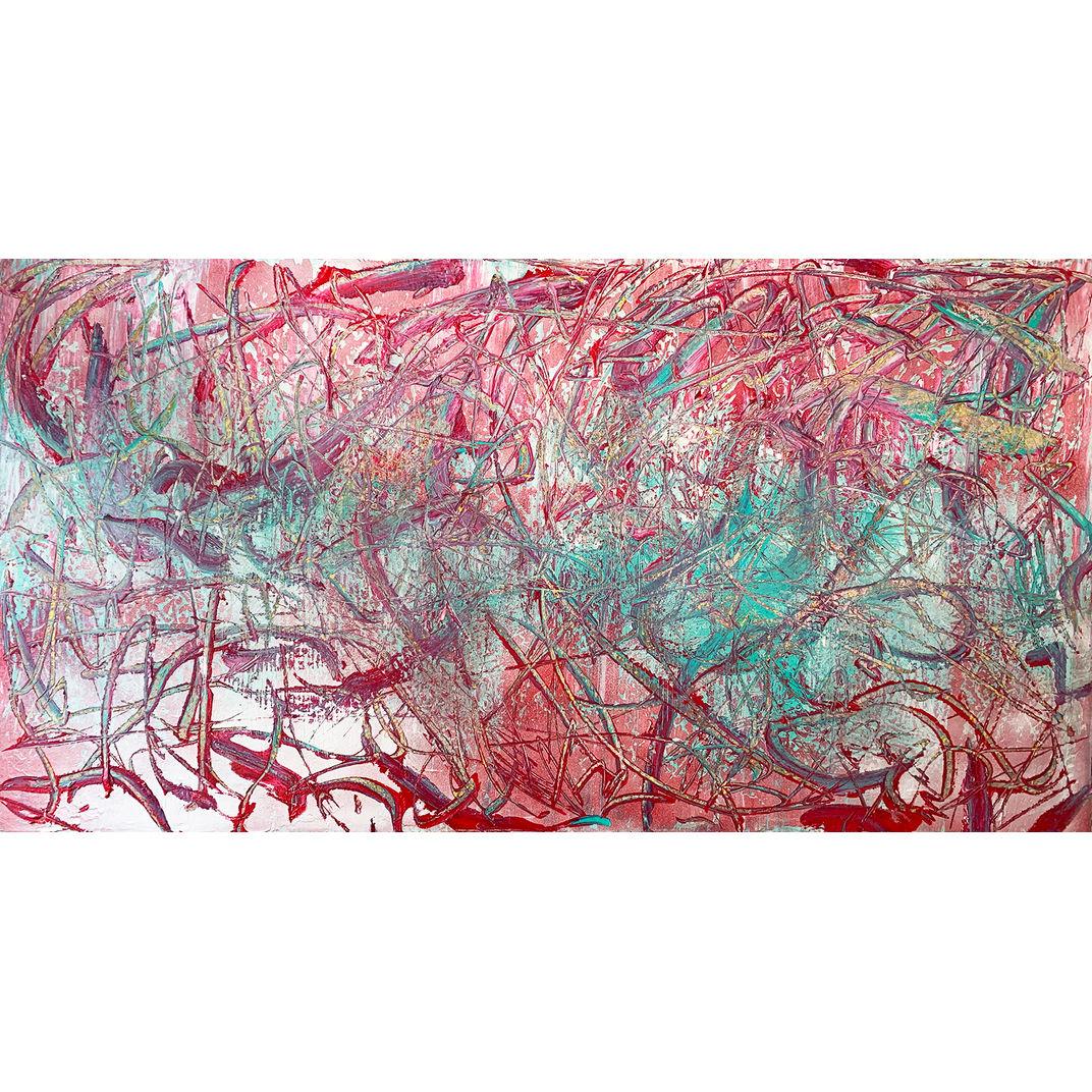 Brain With Pollock by Alejandra Sieder