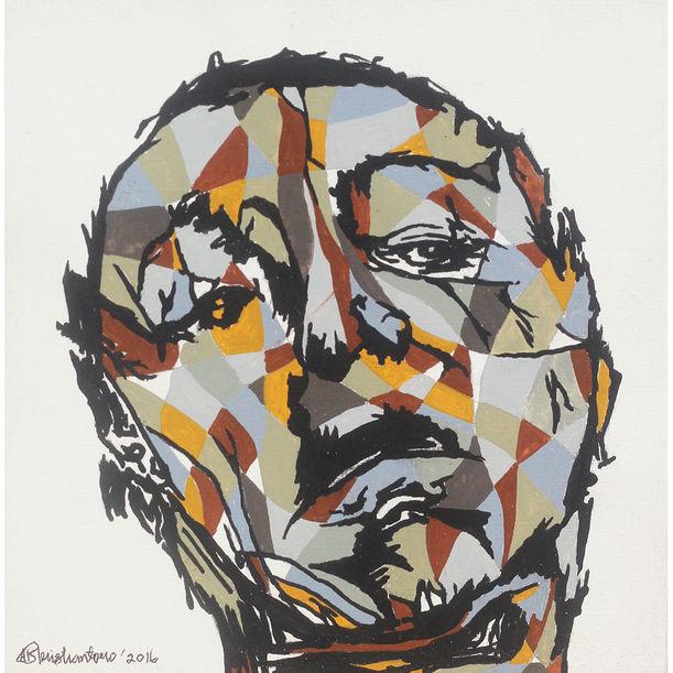 Face series #1 by Adhik Kristiantoro