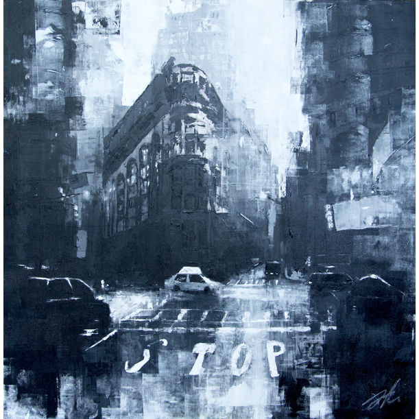 City scape composition #7 by Tomoya