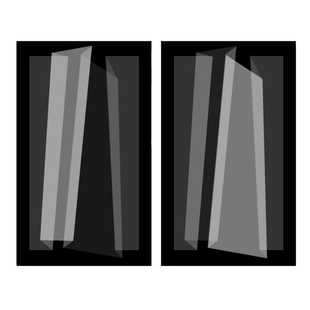 Folds - Parallel-1# by Liu Guoqiang