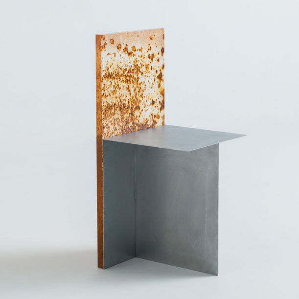 Rust Harvest Chair by Yuma Kano