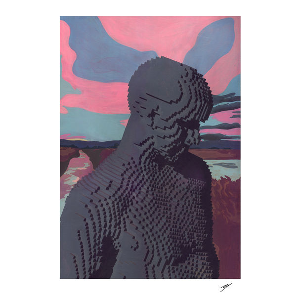 Diptych Figure 022. Part 1 by Yod