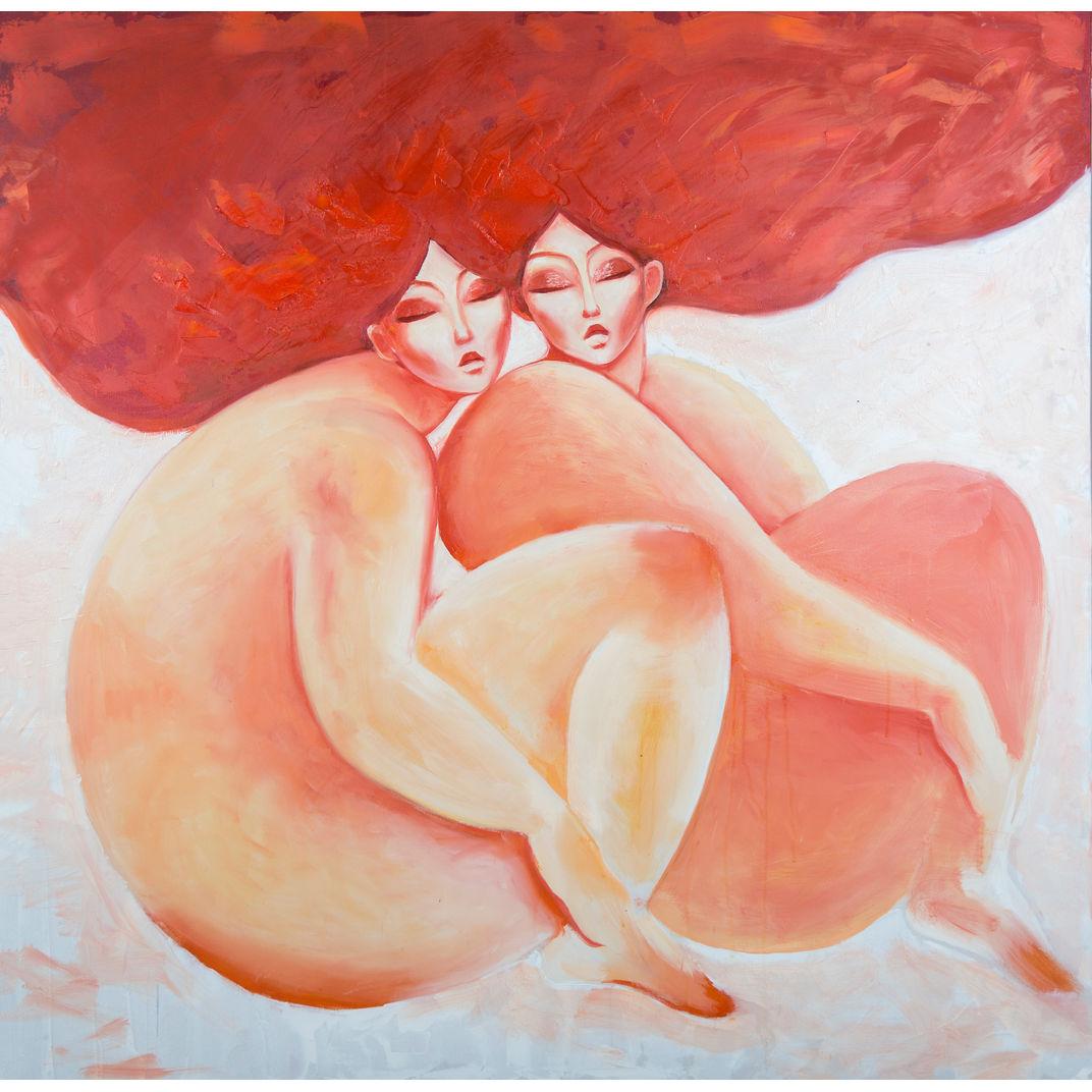 Sisters by Shurentsetseg Sukhbat
