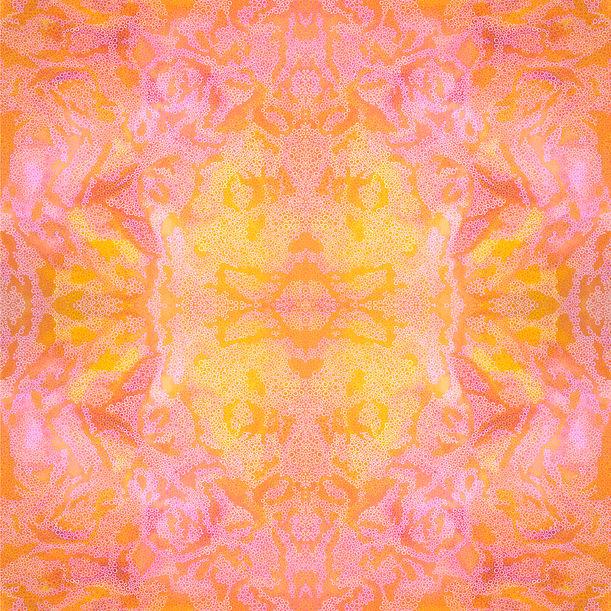 Summer Sorbet Kaleidoscope by Jennifer Bell