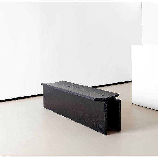 Curved Bench, Large by Estudio Rain