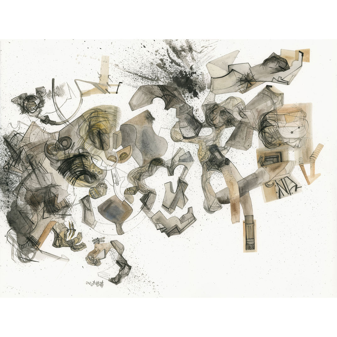 Four quartets by Fang  Jingjing  方靖靖