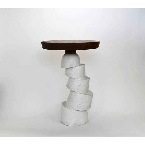 Function Follows Form Segmented Side Table by Natan Moss