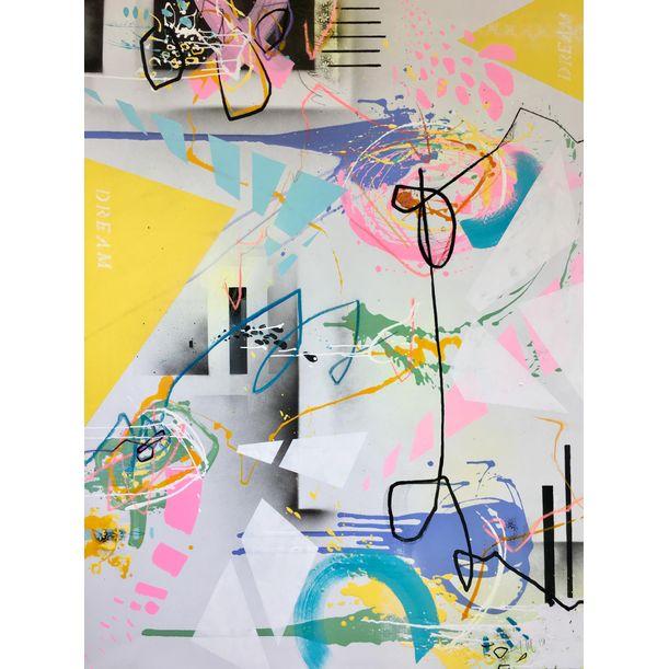 dream II  (XL) by Bea Garding Schubert