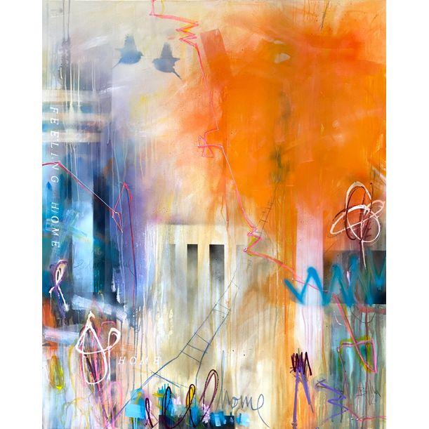 Feeling home VIII by Bea Garding Schubert