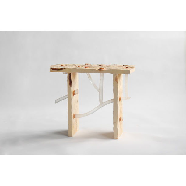 Knot stool by Sho Ota