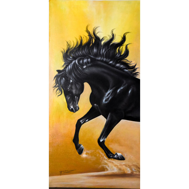 Black Horse by Ali Shan
