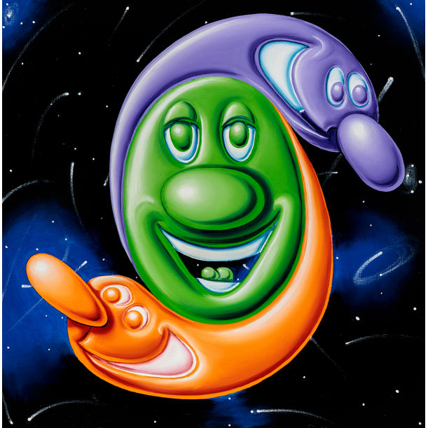 Blobz R Me by Kenny Scharf