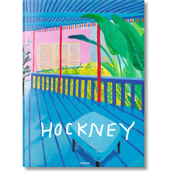 David Hockney. A Bigger Book by David Hockney, Hans Werner Holzwarth, Marc Newson