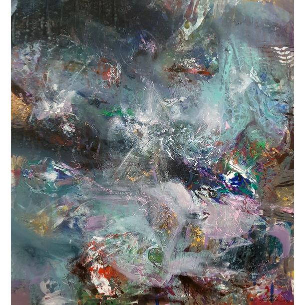 UNBORN RIVER IS FLOWING INTO MY VEINS by Kloska Ovidiu