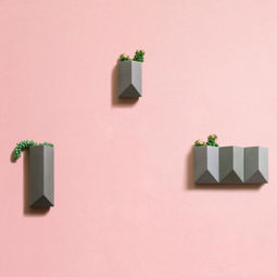 Wall plant pot by Bentu Design