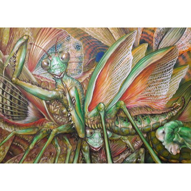 Mantis by Heru Muhawa
