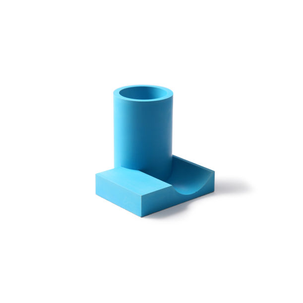 Merge Pen Holder (Blue) by 22 Design Studio