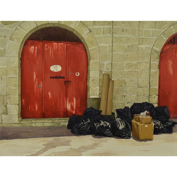 """""""Red gate"""" by Mikhail Zrazhevsky"""