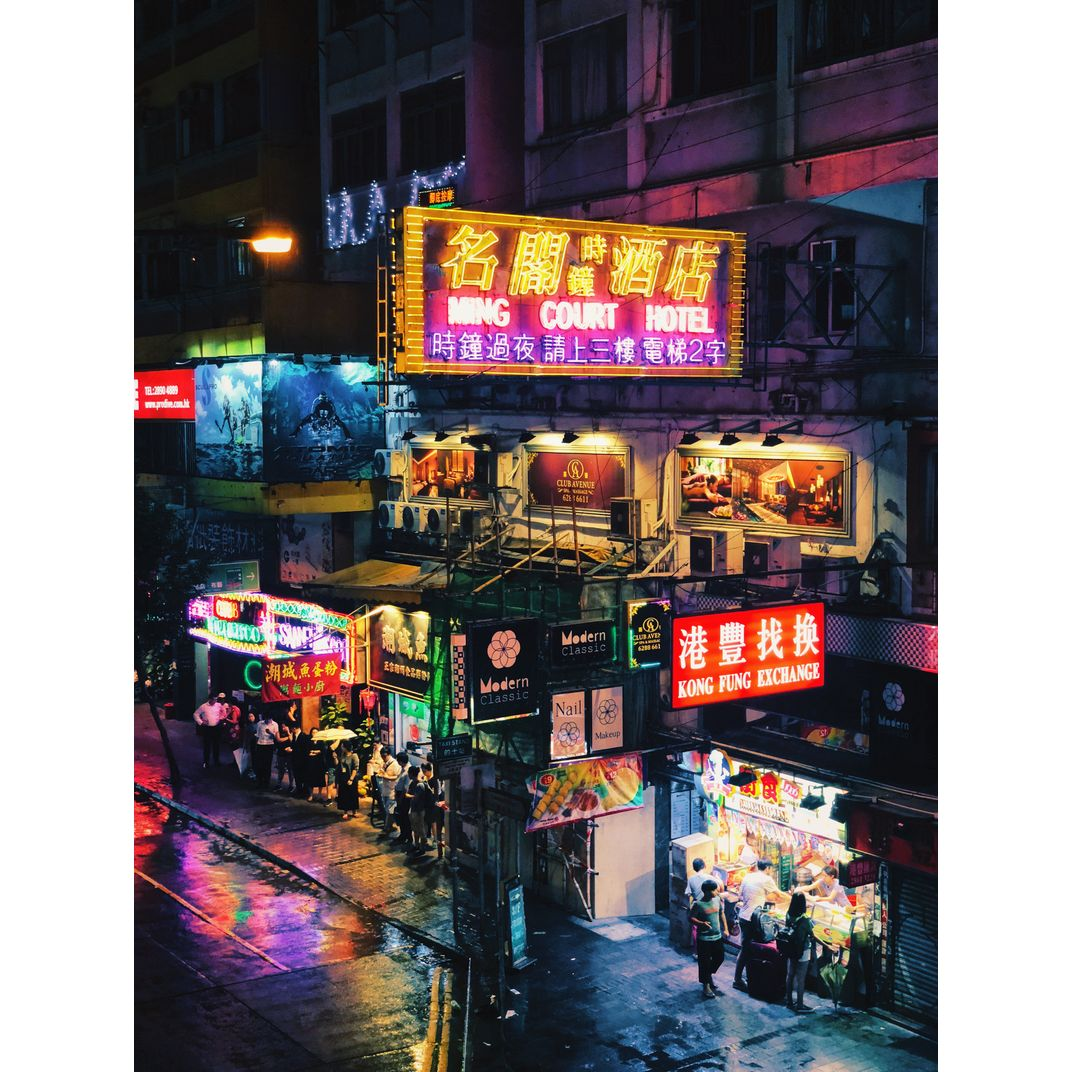 Neon City by Lau King