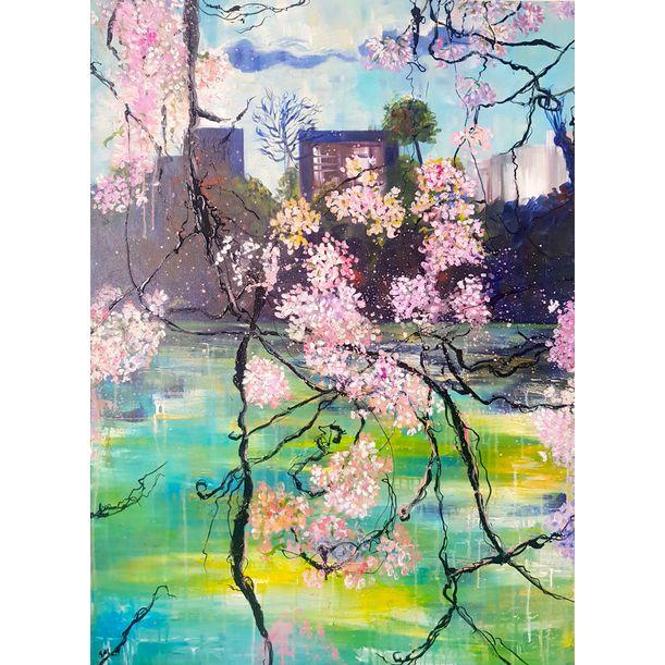 Cherry View by Linda Bachammar