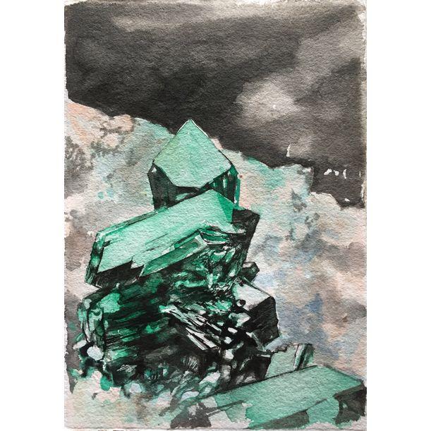 Dipotase (mineralogy) by Asli Torcu