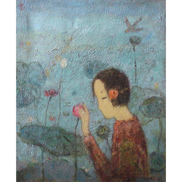 Lotus by Jia Juan Li