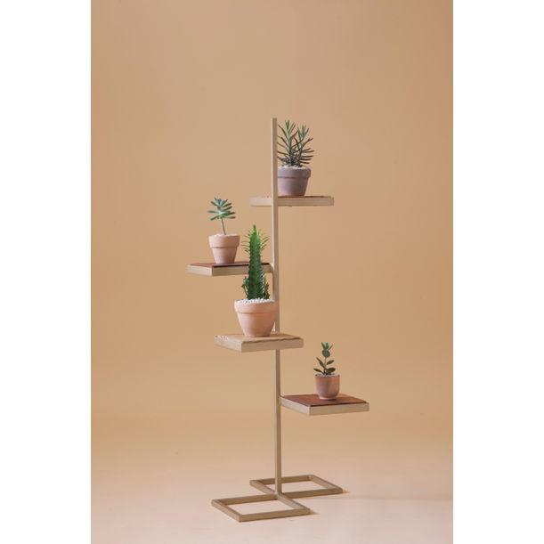 Aurea - gold plant stand 9 by Fi