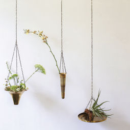 Spin Hanging Planters by Takenouchi Webb