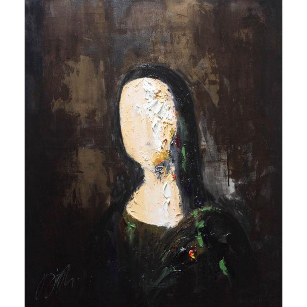 Mona Lisa Contemporary by Tomoya