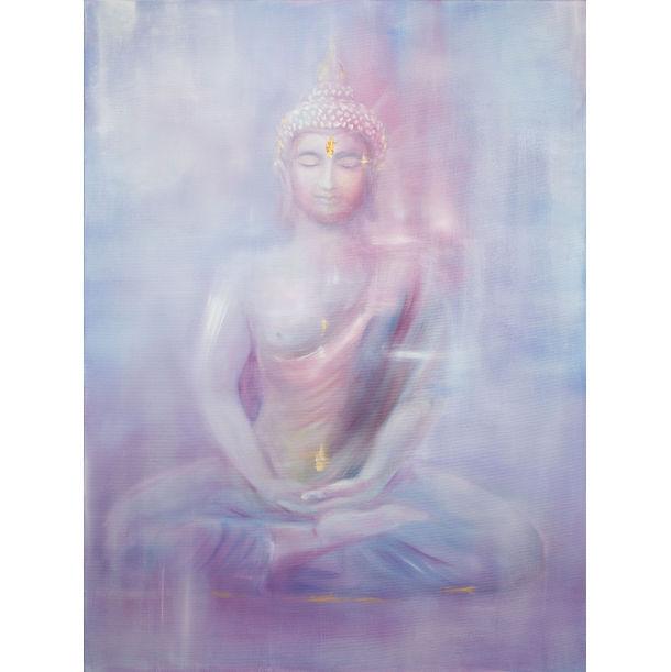 Buddha in Meditation by Yin Chua