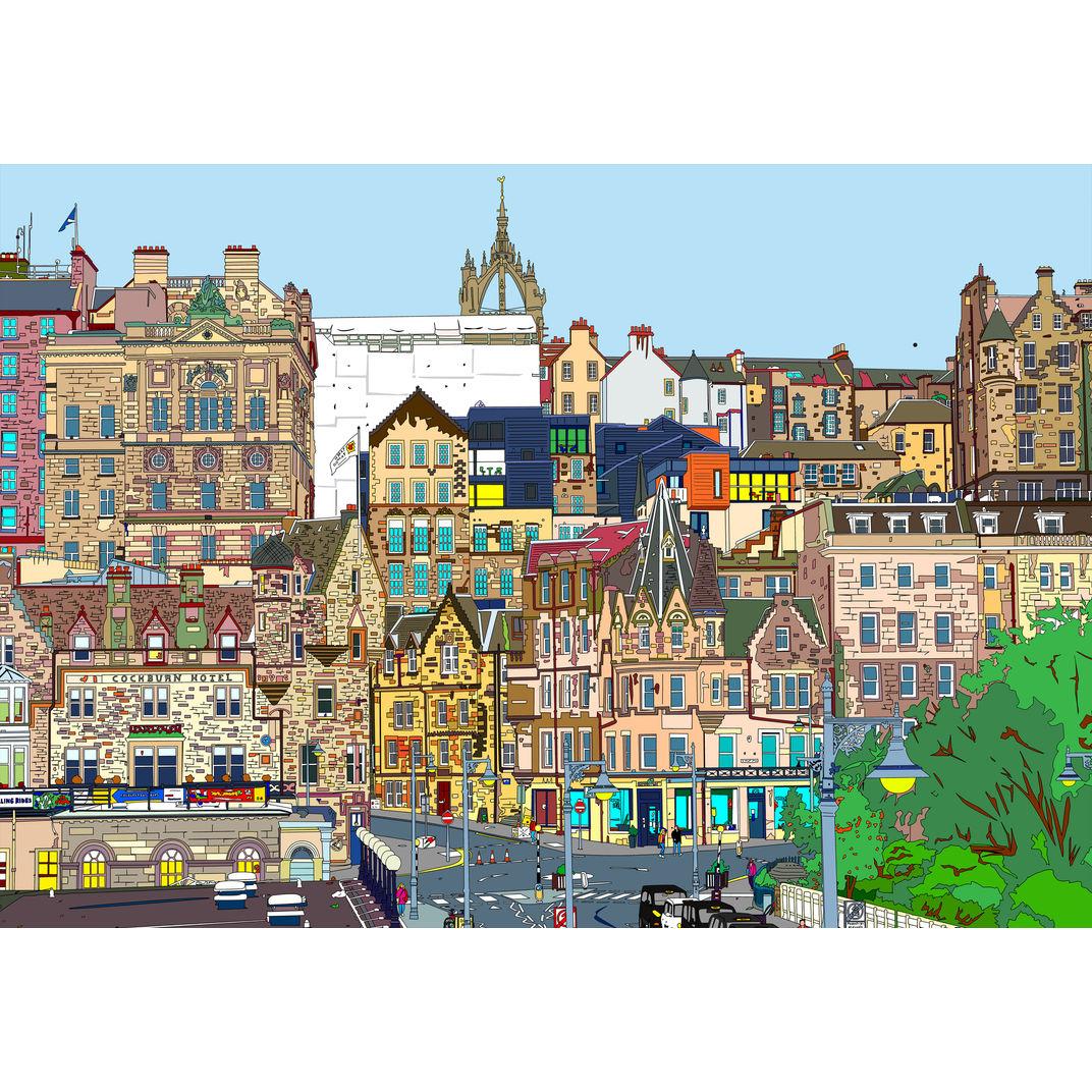 Edinburgh View by Marco Santaniello