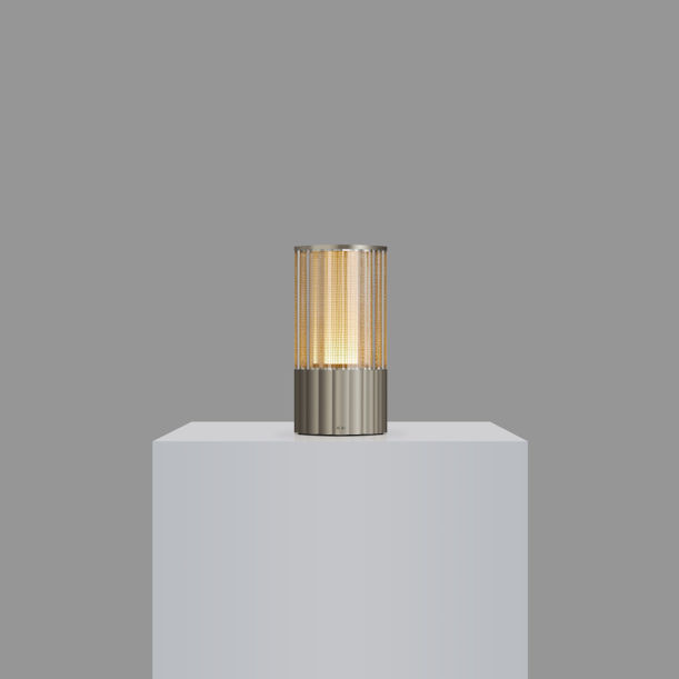 Voltra Totem - Reeded  - Satin Nickel by Voltra