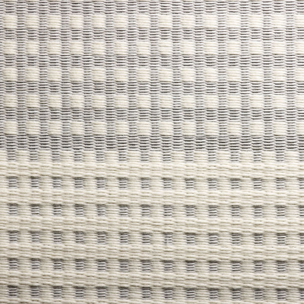 Snow Grid by Tiffany Loy for The Rug Maker