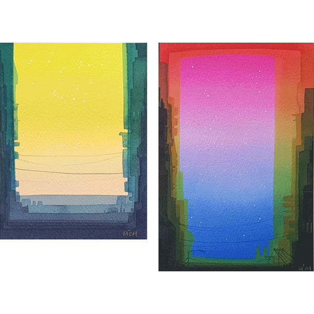 Parallel 20, 21 by Li Ching Heng (Leach)