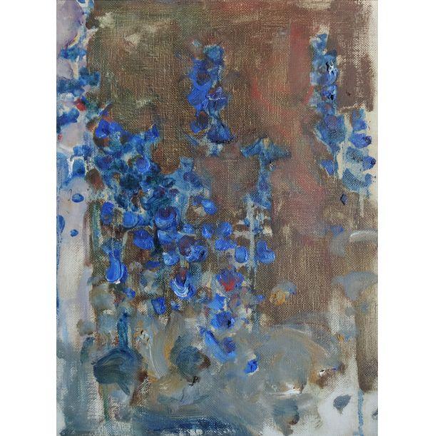 Flowers on a Dark Background by Yuriy Ushakov