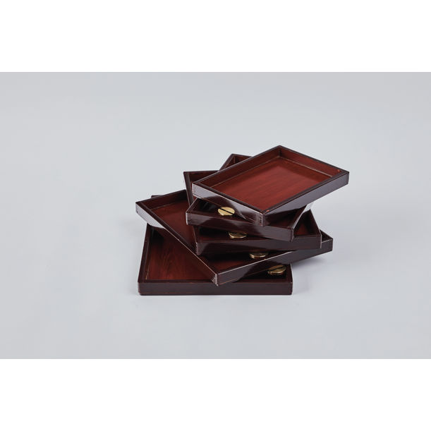 Urushi Layered Boxes 2 by Ryosuke Harashima