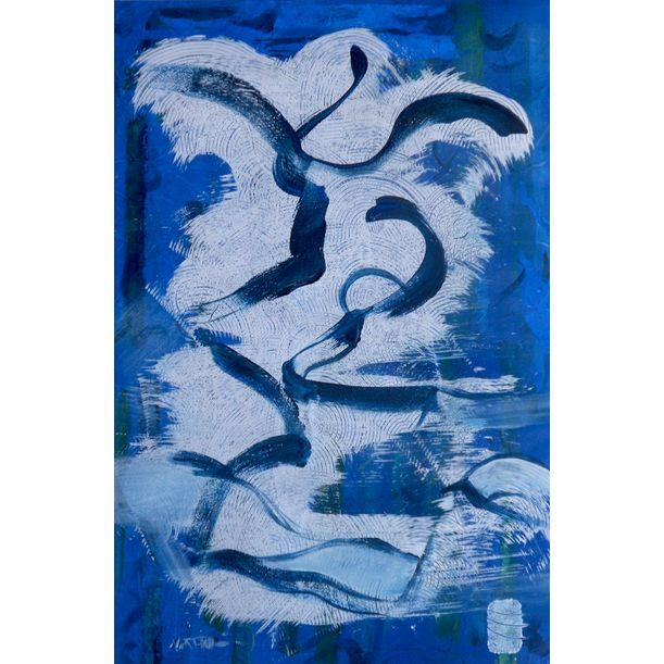 blue in blue by Nartana Thomas Holzweiler