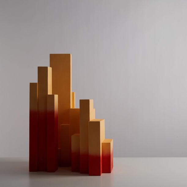 Cristales crecientes (Growing crystals) by Nestor Campos