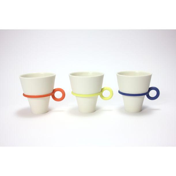 String cup (circle handle) by Atsushi Kitahara