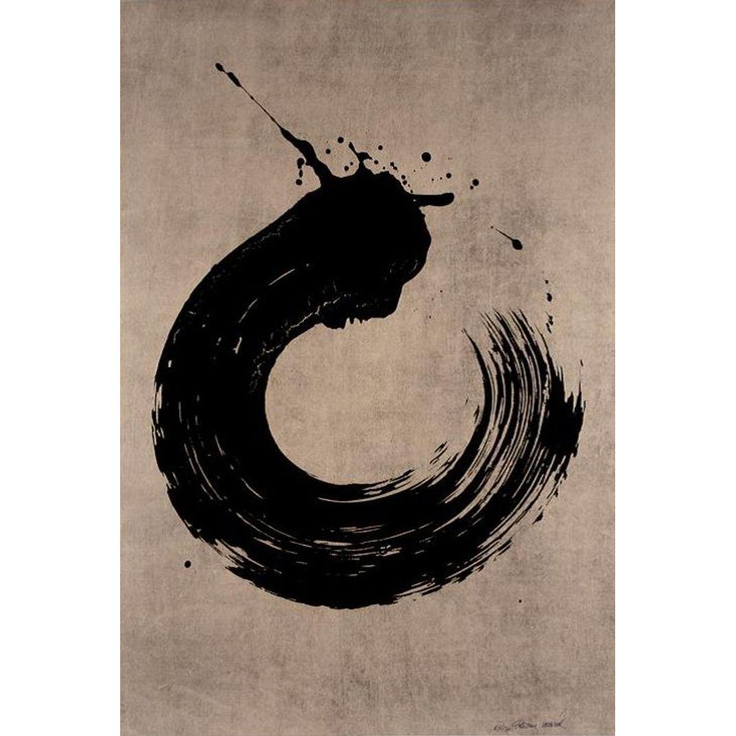 Black Circle by Fabienne Verdier